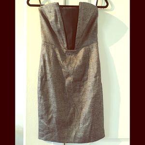 Bebe size 4 strapless minidress